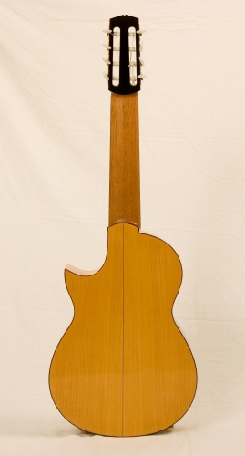 Handmade nylon guitar, Cypress Classical guitar, Honduran Cedar neck, schellac finishing. paleta.JPG