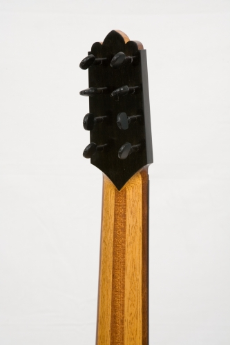 Flamenco guitar neck (Honduras Mahogany & Samba), with 2 truss rod, to control strings action over the fingerboard.jpg