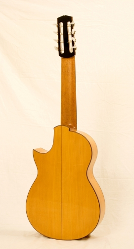Custom classical guitar, Cypress back & sides, Honduras Cedar neck.JPG