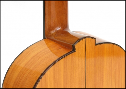 Flamencogitar, Cypress flamencogitar, heel.jpg