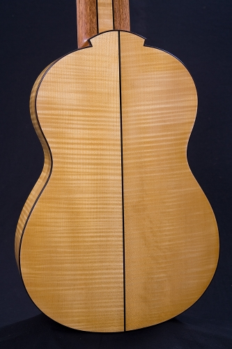 European Maple guitar back, heel, shellac varnish.jpg