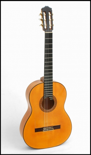 Handmade flamenco guitar, copy of Santos Hernández.jpg